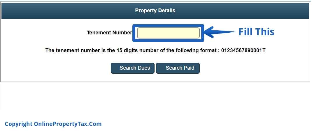 how to find property taxes paid on a house