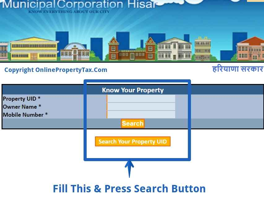 HISAR KNOW YOUR PROPERTY